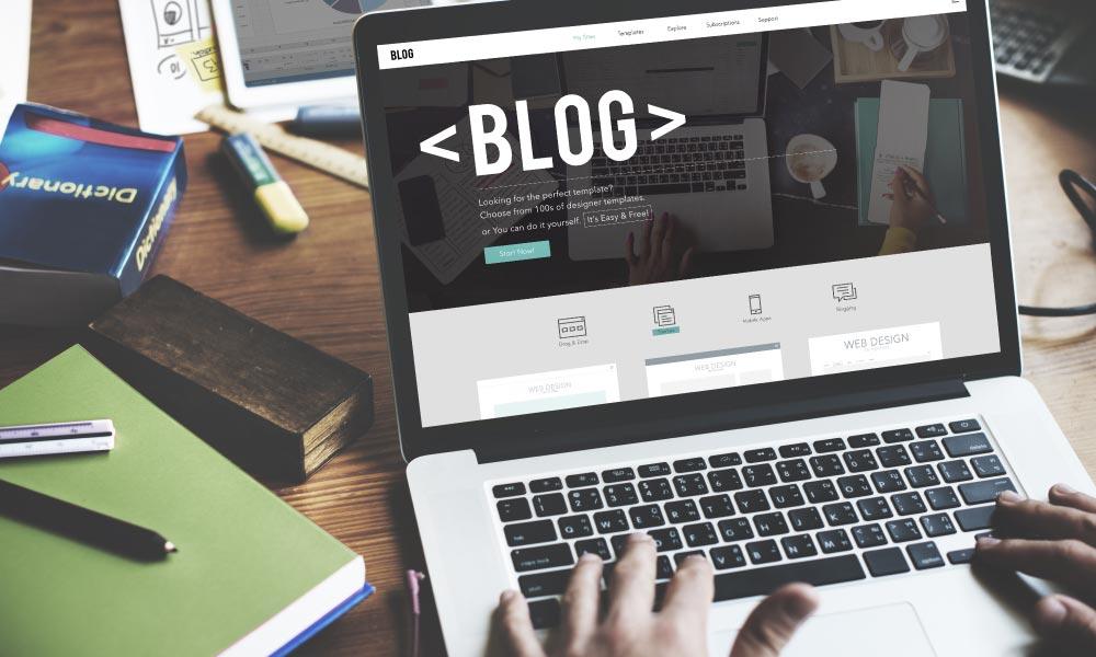 escribir blogs