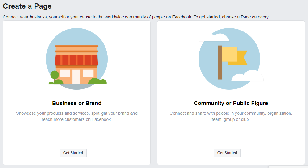 crear página de Facebook para empresas