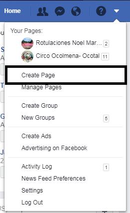 crear pagina