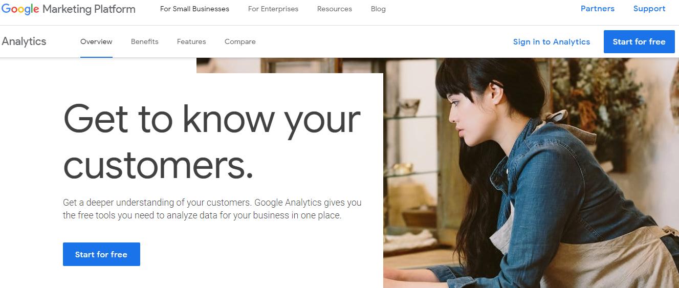 google analytics  herramienta de marketing digital