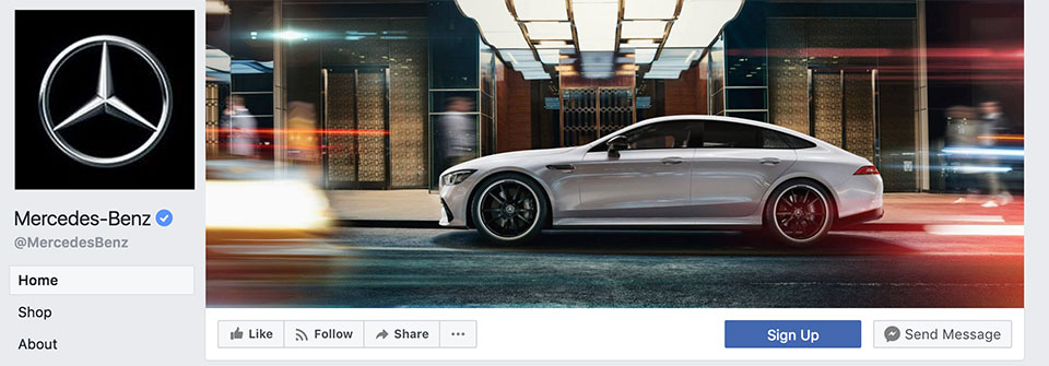 mercedes-benz-facebook-page