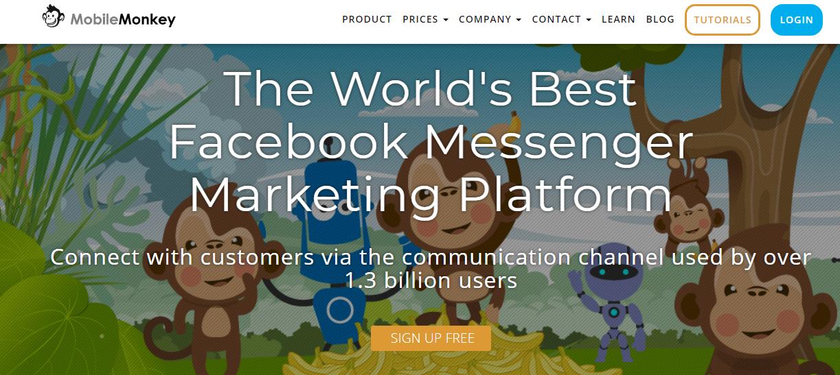 mobile monkey herramienta de marketing digital