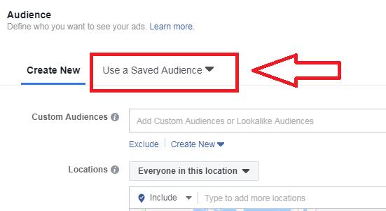 saved audience
