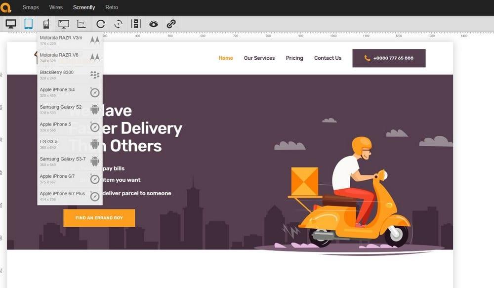 screenfly como herramienta para evaluar sitios web responsivos
