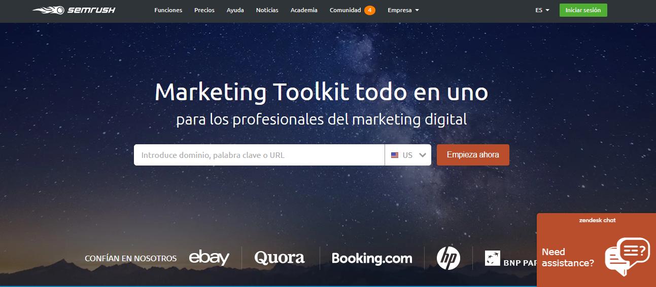 semrush herramienta de marketing digital