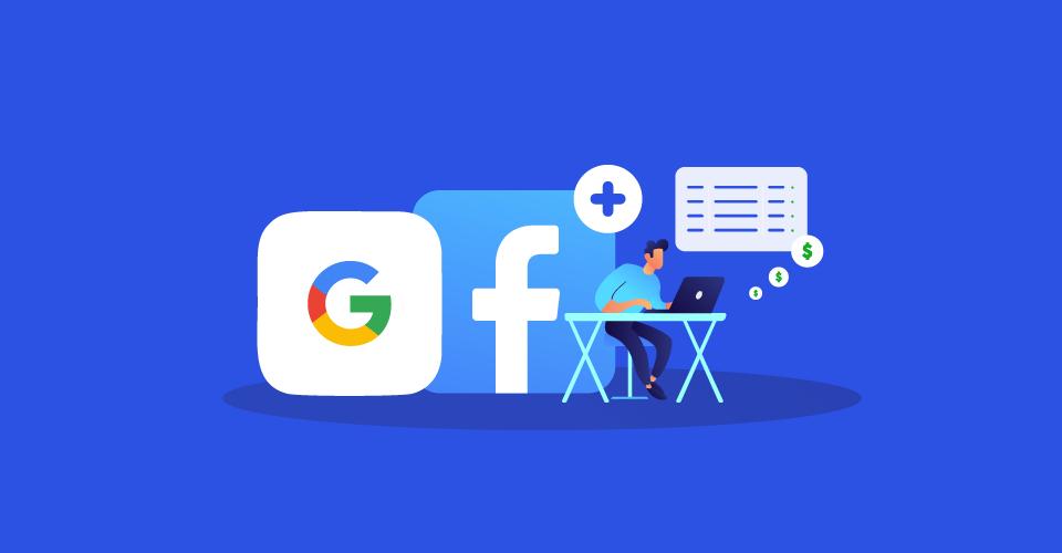 Convierte más clientes con Google y Facebook