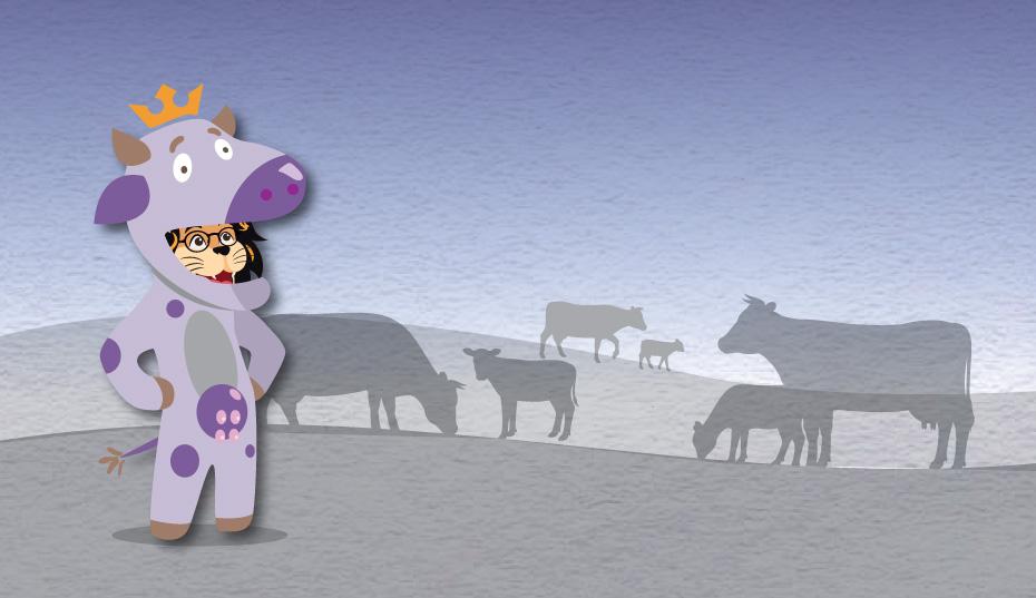 10 Formas de Crear una Vaca Púrpura y Por qué no Confiar en Ella