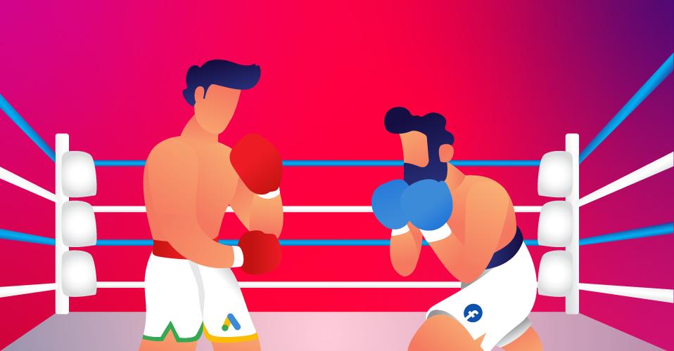 Google Vs Facebook ¿Cuál me conviene más en la batalla de las Ads?